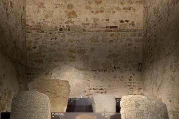 Mittelalterliche jüdische Grabsteine, Foto: Zitadelle Berlin, Joanna Kosowska