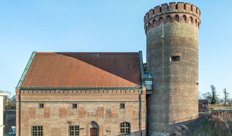The Julius Tower with the Palas, photo: Citadel Berlin, Friedhelm Hoffmann