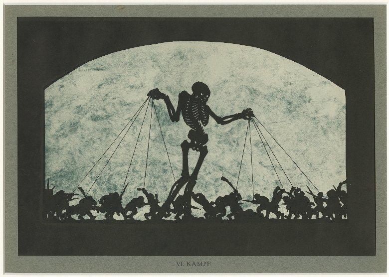 """Melchior Grossek """"Kampf"""", 1923 (Quelle: Letter Stiftung Köln)"""
