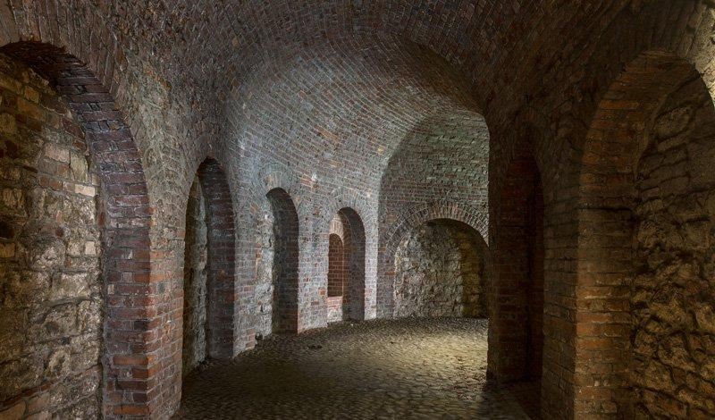 The Black Corridor, photo: Citadel Berlin, Friedhelm Hoffmann