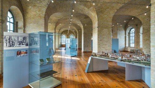 Ausstellungsbereich im Zeughaus, Foto: Zitadelle Berlin, Friedhelm Hoffmann