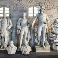 Monumnets of the Siegesallee, photo: Citadel Berlin, Friedhelm Hoffmann