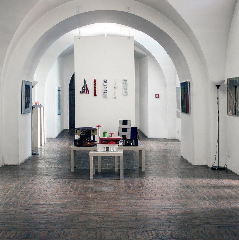 Exhibition of the Youth Art School Spandau, photo: Reinhard Hoffmann