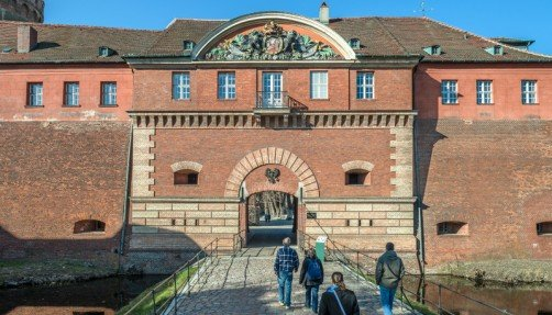 Gatehouse of the Citadel, photo: Citadel Berlin, Friedhelm Hoffmann