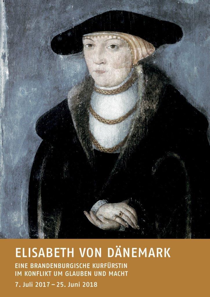 Bild: Kurfürstin Elisabeth von Brandenburg, um 1620. Heinrich Bollandt zugeschrieben. Universitätsbibliothek Bayreuth (Kanzleibibliothek) / Inv. Nr. Pict. 26.