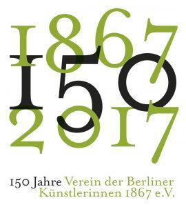 Logo 150 Jahre Verein der Berliner Künstlerinnen 1867 e.V.