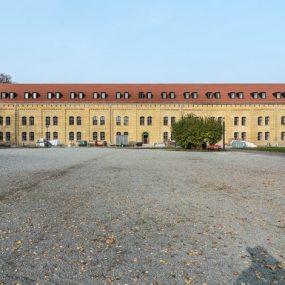 Das lange Gebäude der Alten Kaserne, Foto: Zitadelle Berlin, Friedhelm Hoffmann