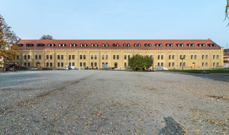 The long building of the Old Barracks, photo: Citadel Berlin, Friedhelm Hoffmann