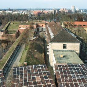 Blick vom Juliusturm auf die Bastion Kronprinz, Foto: Zitadelle Berlin, Friedhelm Hoffmann