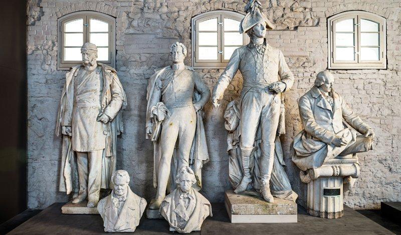 Denkmäler der Siegesallee, Foto: Zitadelle Berlin, Friedhelm Hoffmann