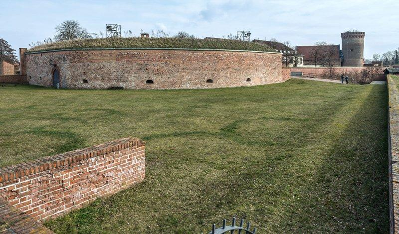 On top of the Bastion Crown Prince (Kronprinz), photo: Citadel Berlin, Friedhelm Hoffmann