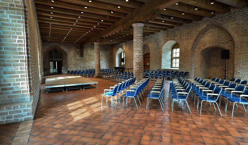 Gothic Hall prepared for a concert, photo: Citadel Berlin