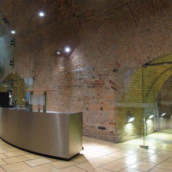 Der Tresenraum der Italienischen Höfe, Foto: Zitadelle Berlin