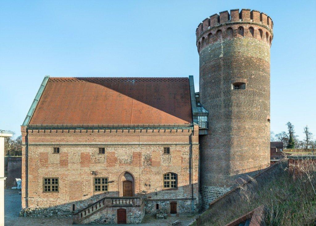 Der Juliusturm mit Palas, Foto: Zitadelle Berlin, Friedhelm Hoffmann