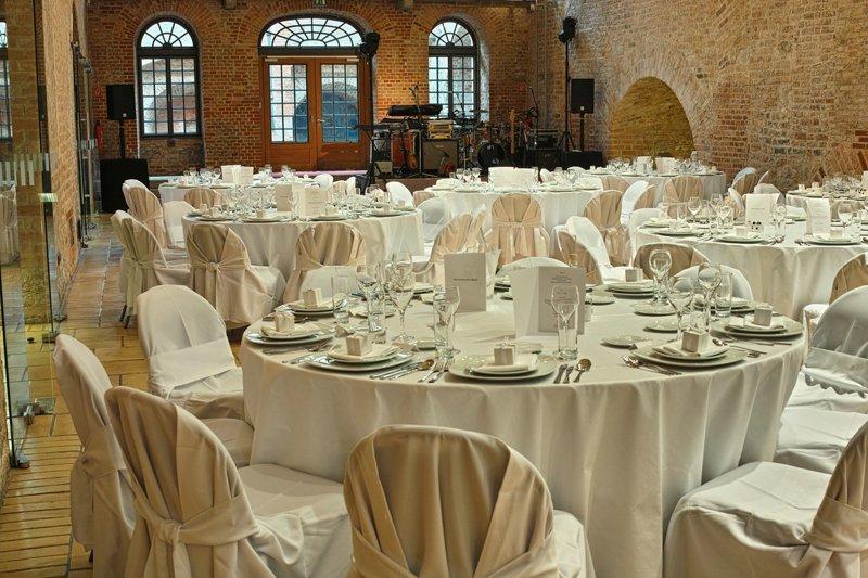 Hochzeitsdekoration in den Italienischen Höfen, Foto: Zitadelle Berlin