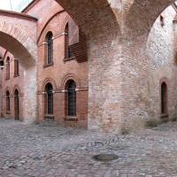 Außenbereich der Italienischen Höfe, Foto: Zitadelle Berlin