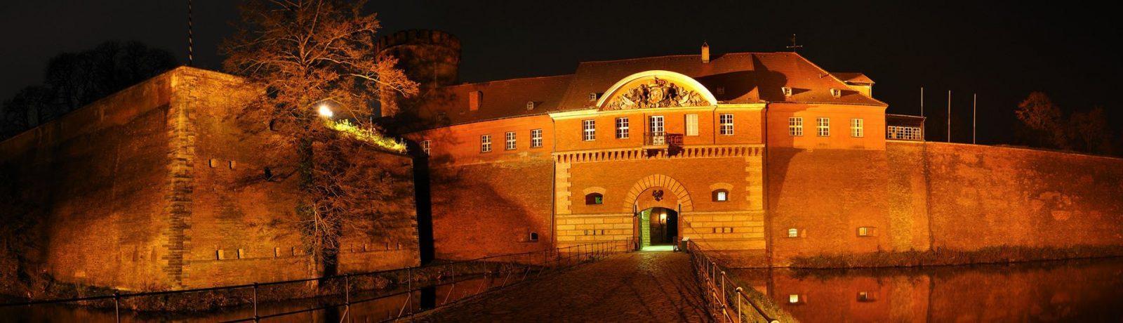 Die Zitadelle bei Nacht, Foto: Zitadelle Berlin