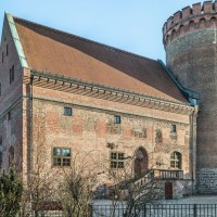 The Palas with the Julius Tower, photo: Citadel Berlin, Friedhelm Hoffmann