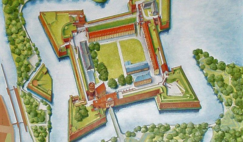 Site plan of the Citadel, picture: Citadel Berlin