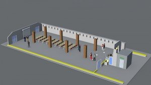 Visualisation Old Barracks, image 3, picture: Citadel Berlin
