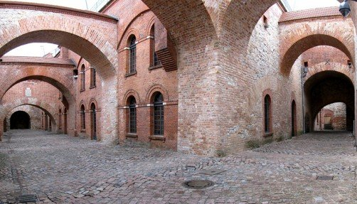 The outer area of the Italian Courtyards, photo: Citadel Berlin