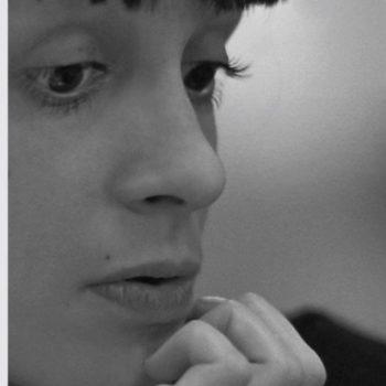 Abb: Bettina Keller, Portrait Raffaela Renzi (Ausschnitt), 1989, Baryt-Papier, 30 x 40 cm