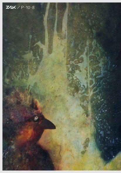 Abb: Julia Schramm, Kühlender Wald (Auschnitt), 2018, 100 x 200cm, Öl und Acryl auf Leinwand