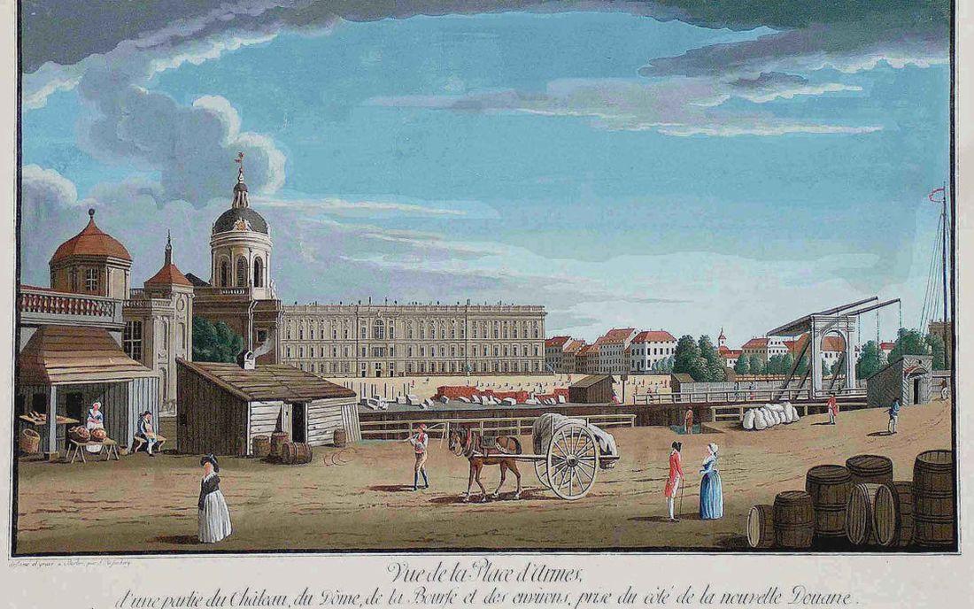 Lustgarten 1780