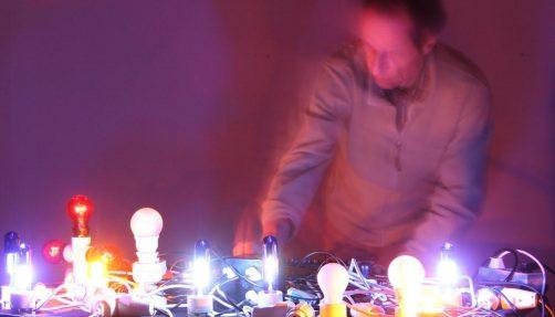 Glühlampenkonzert M. Vorfeld, Foto von Ivan Petrovic