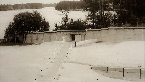 Die Mauer an der Bürgerablage. Quelle: BStU