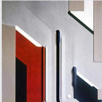 Abb.: Platzgestaltung (Forum) für das Geisteswissenschaftliche Zentrum der Universität Göttingen (Modell), Entwurf: 1968, ausgeführt: 1972