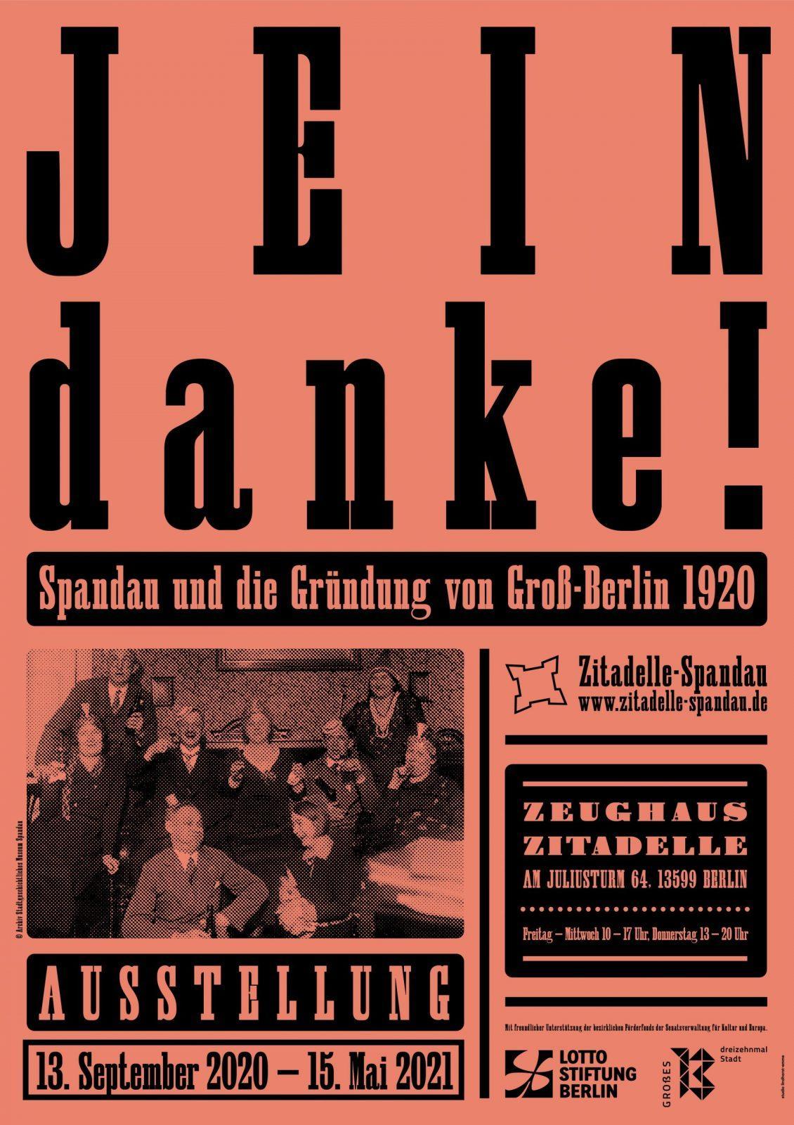 Jein Danke! Spandau und die Gründung von Groß-Berlin 1920