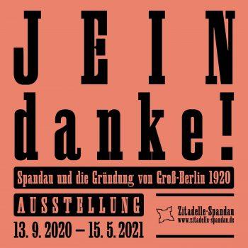 Quadrat-Jein-Danke © Stadtgeschichtliches Museum Spandau, 2020 Grafik: Sven Lindhorst-Emme