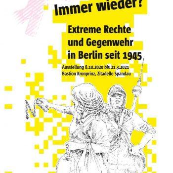 Immer wieder Einladungskarte apabiz e.V. Gestaltung BAR PACIFICO Inga Attrot, Fabian Hickethier