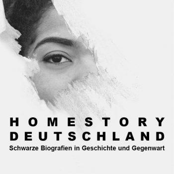Ausstellungsplakat Homestory Deutschland