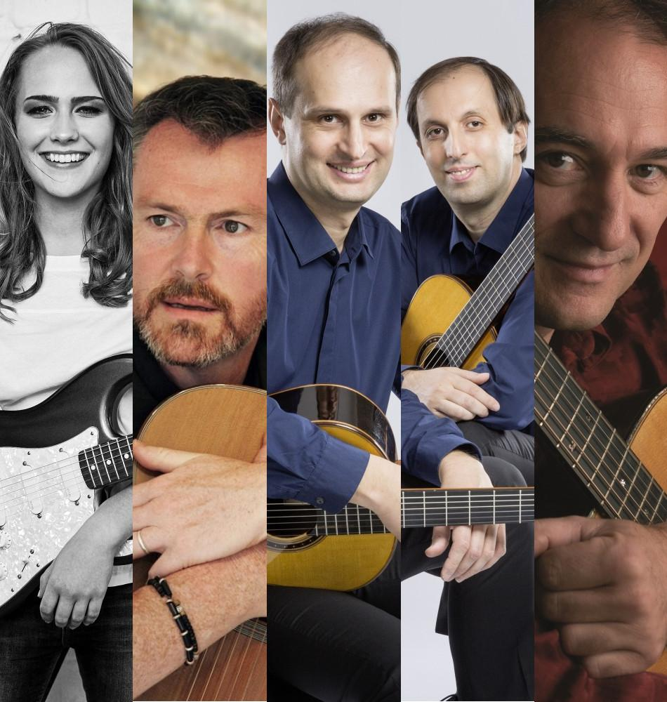 International Guitar Night - Sophie Chassée (D), Dylan Fowler (UK), Duo Kvaratskhelia (Georgien) und Peter Finger (D)